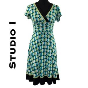 Studio I Fit and Flare Dress Size 4P